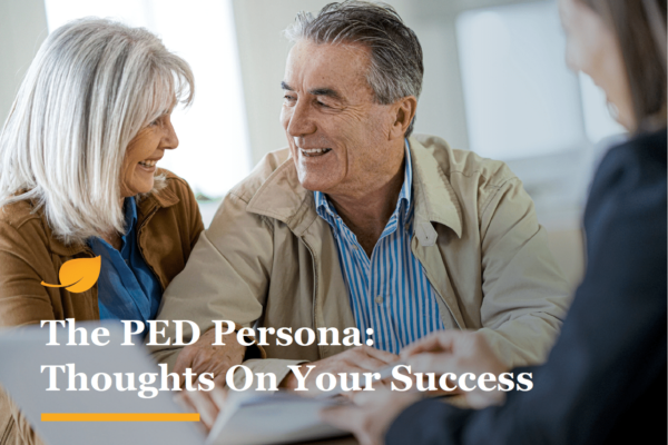 PED Persona Training Cover