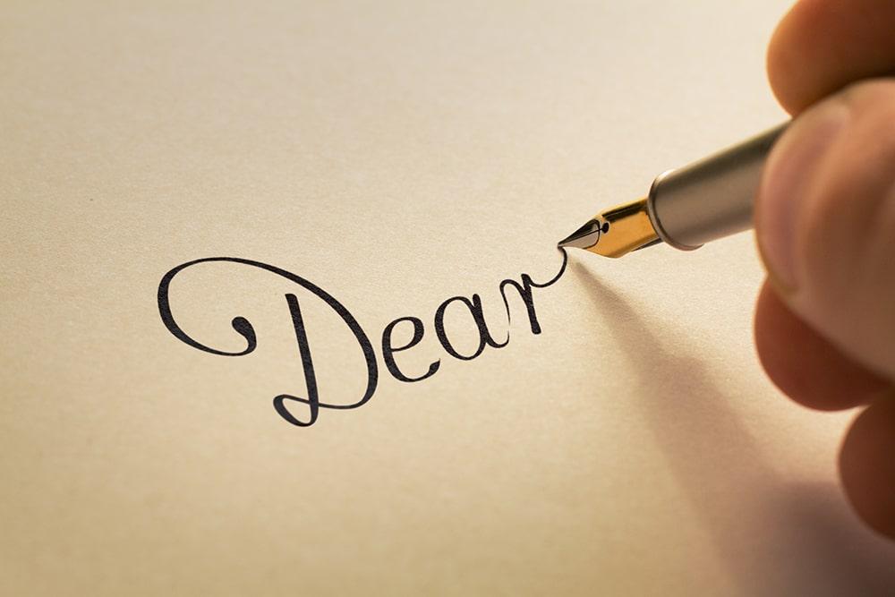 Legacy Letter